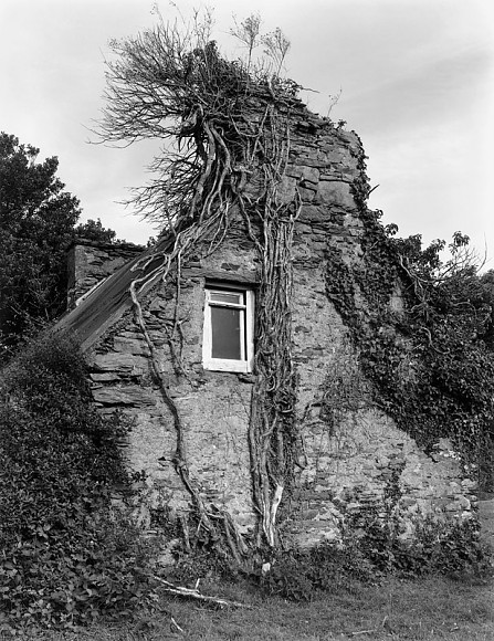 Abandoned House - Scart Waterfall - Co. Cork  Ireland  1992
