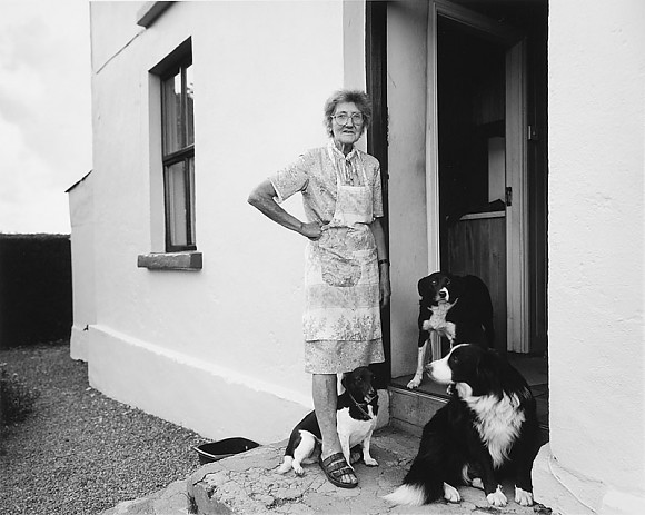 Freda Allen with Gra, Jack & Judy - Toormore, Co Cork  Ireland  2005