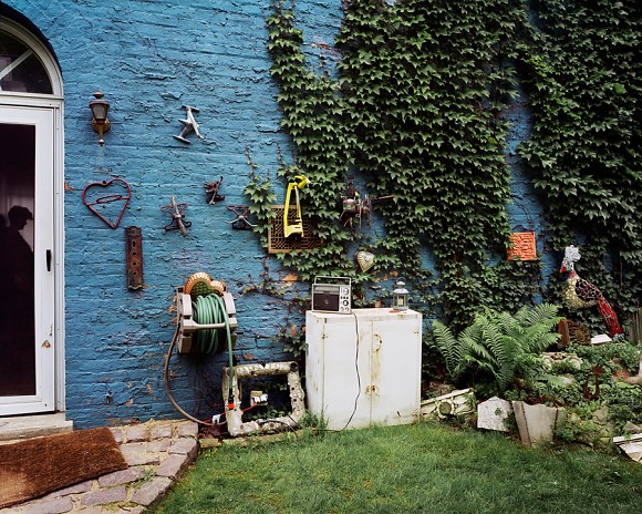 Blue Wall - Wicker Park - Chicago, IL  2002