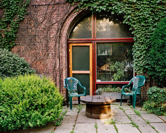 Green Chairs - Pilsen - Chicago, IL  2002